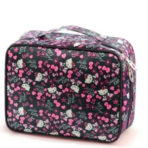 Hello Kitty Cosmetic Waterproof Travel Case Square